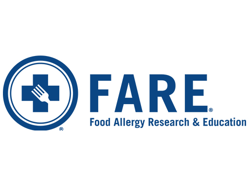 Food allergy research & education logo linking to the FARE website.